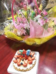 おばあちゃん誕生日!