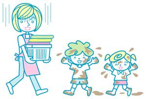 子ども服の泥汚れ! キレイに落とすテクニックとは?