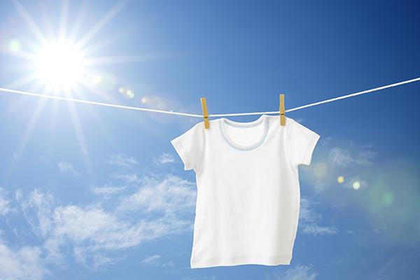 洗ったのに汗臭い?衣類をすっきりと洗い上げる夏の洗濯ポイント3つ
