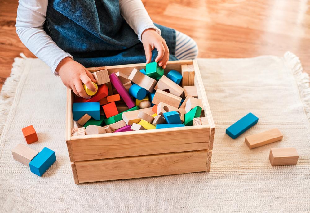 お片付けが楽しくなる!子どものおもちゃの収納アイデア!