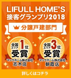 「LIFULL HOME'S接客グランプリ2018」全国第1位を受賞!